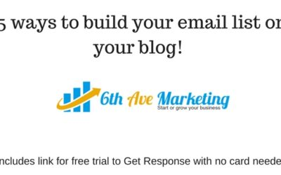 15 Tested and Proven Ways to Build Your Email Subscriber List